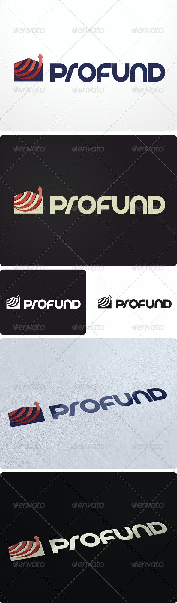 ProFund Logo Design - Buildings Logo Templates