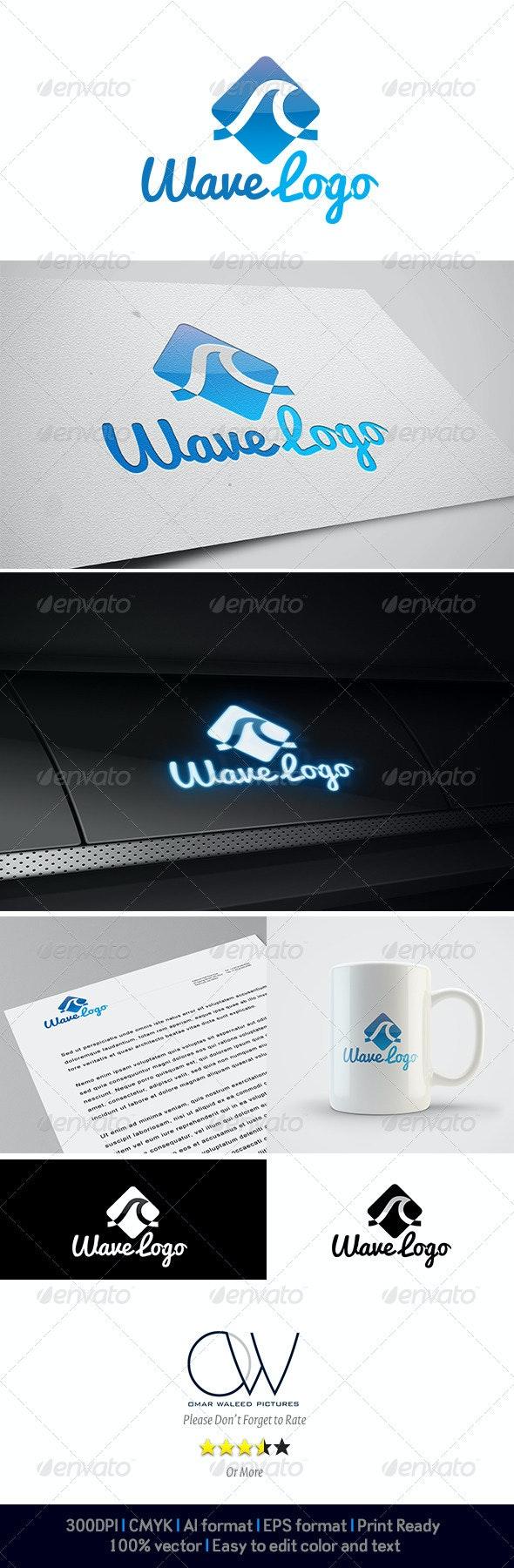 Wave Logo - Abstract Logo Templates