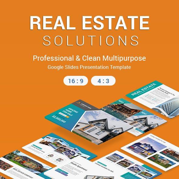 Real Estate Google Slides Template