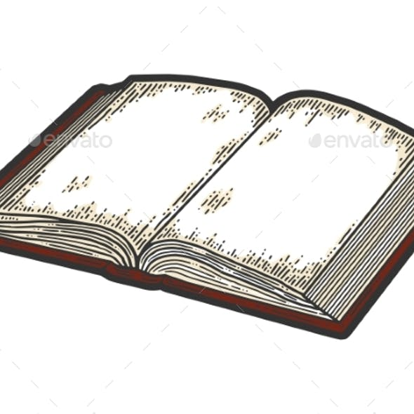 Isolated Objects Open Book