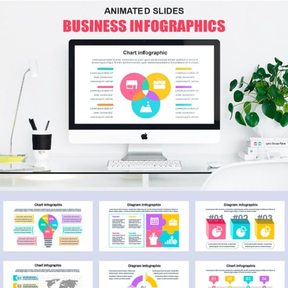 Powerpoint Infographics Animated