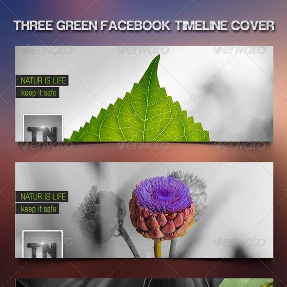 Nice Nature Green Facebook Timeline .