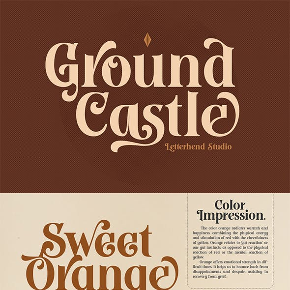 Ground Castle - High Contrast Serif