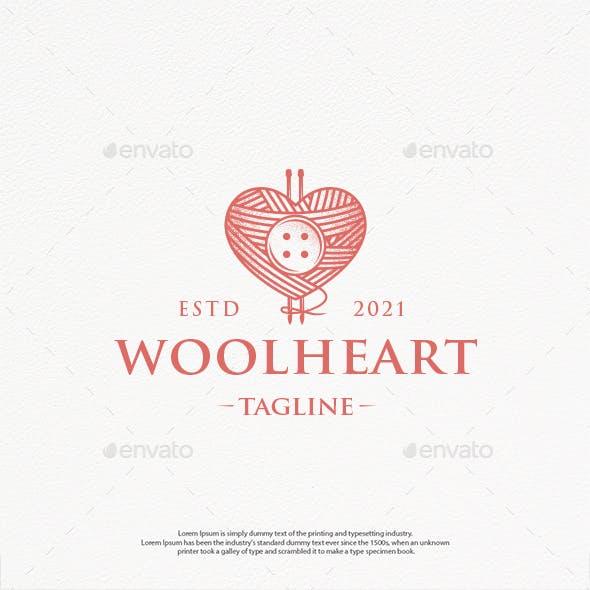 Wool Love Vintage Logo Template