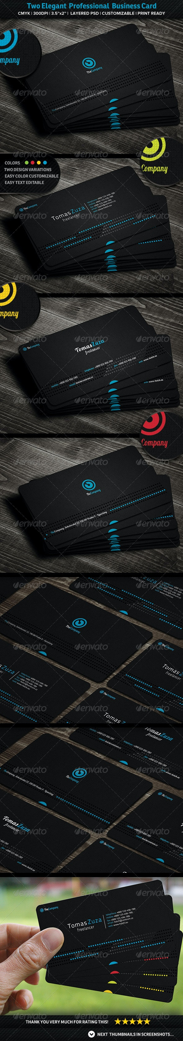 Elegant Professional Business Card - Creative Business Cards