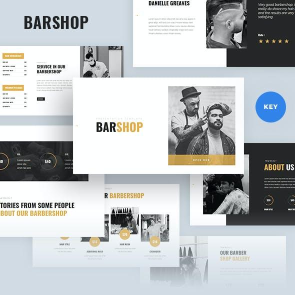 Barshop - Barbershop Keynote Template
