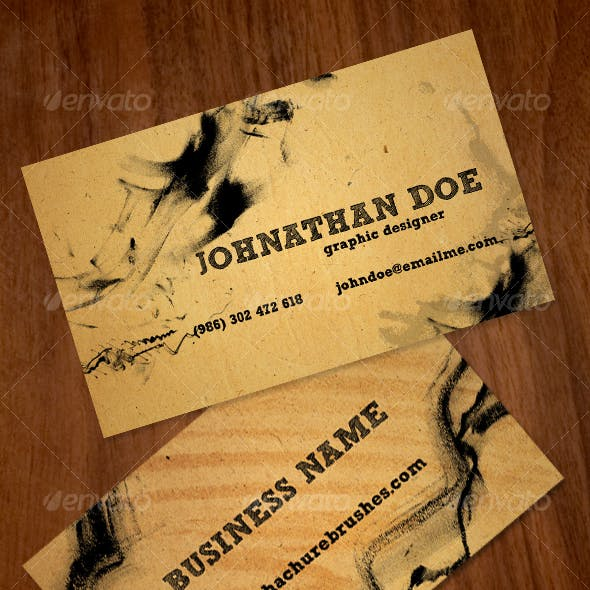Hachure Business Card