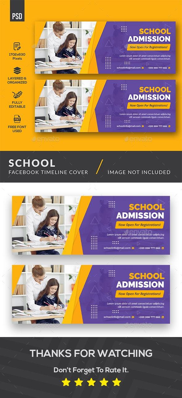 School Facebook Cover - Facebook Timeline Covers Social Media