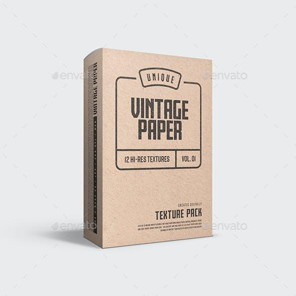 Vintage Paper Textures - Vol. 01