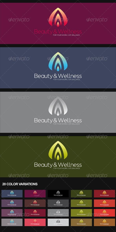 Beauty & Wellness Logo - Nature Logo Templates