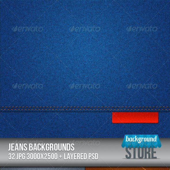 Jeans Backgrounds Texture