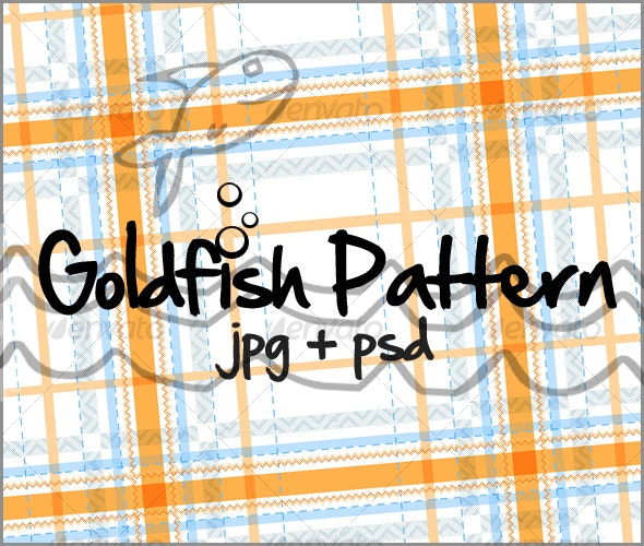 Goldfish Pattern - Fabric Textures