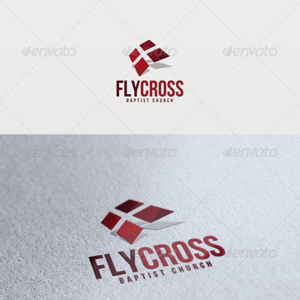 Fly Cross Logo