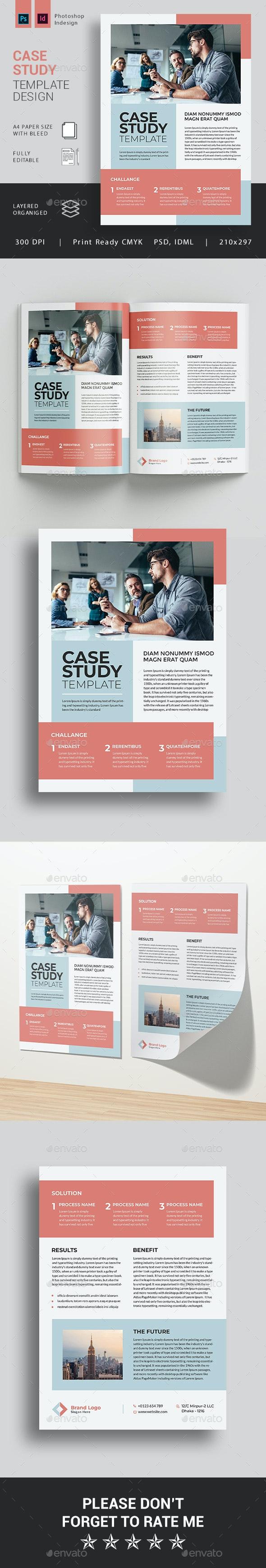 Case Study - Brochures Print Templates
