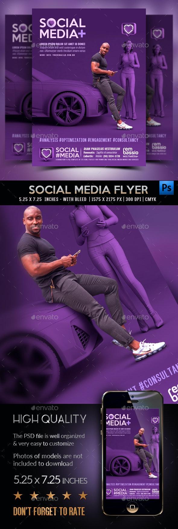 Social Media Flyer - Corporate Flyers