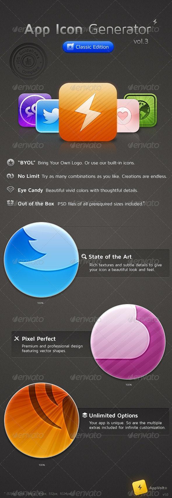 App Icon Generator Vol.3 - Software Icons