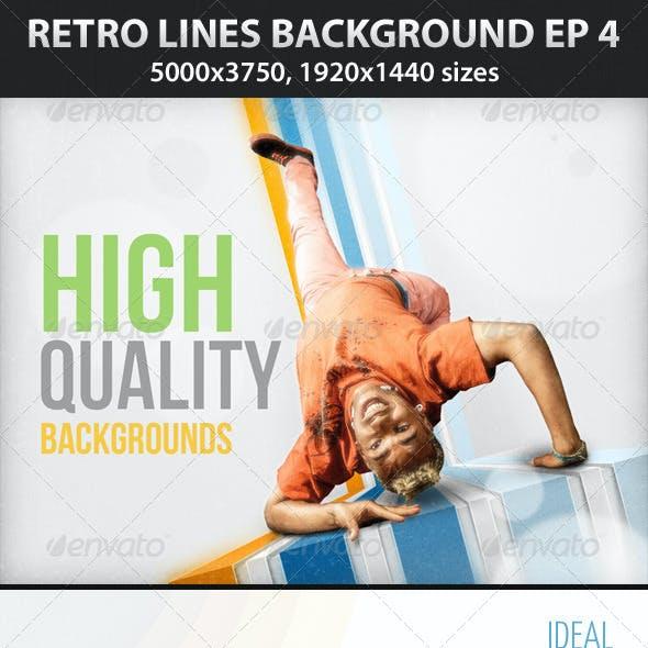 Retro Lines Background ep 4