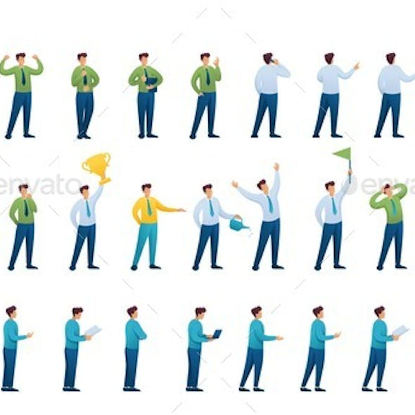 Set of Poses and Actions of a Business