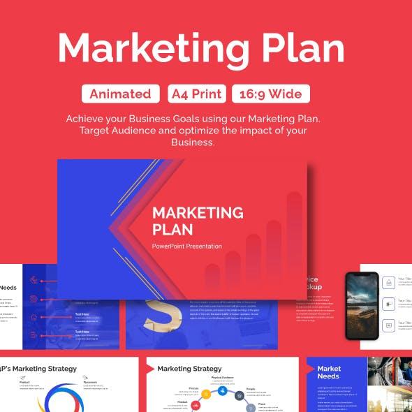 Marketing Plan Template PPT Presentation