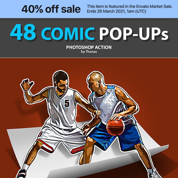48 Comic Pop-ups