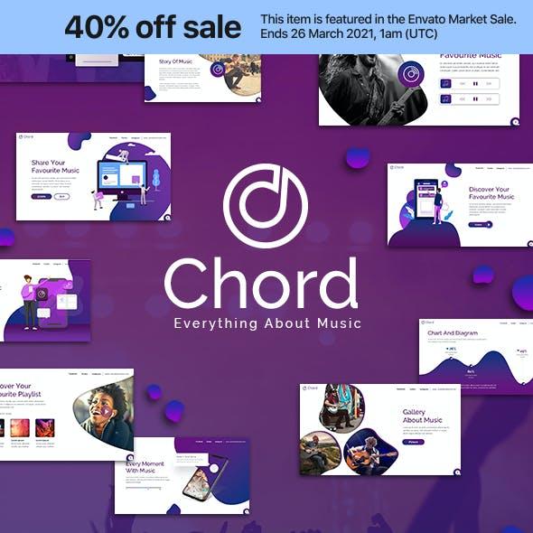 Chord Music Presentation Template