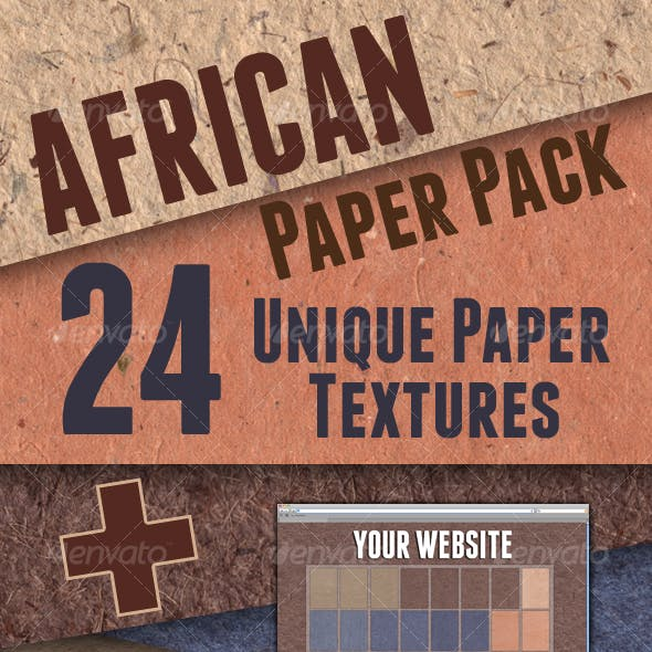 African Paper Pack