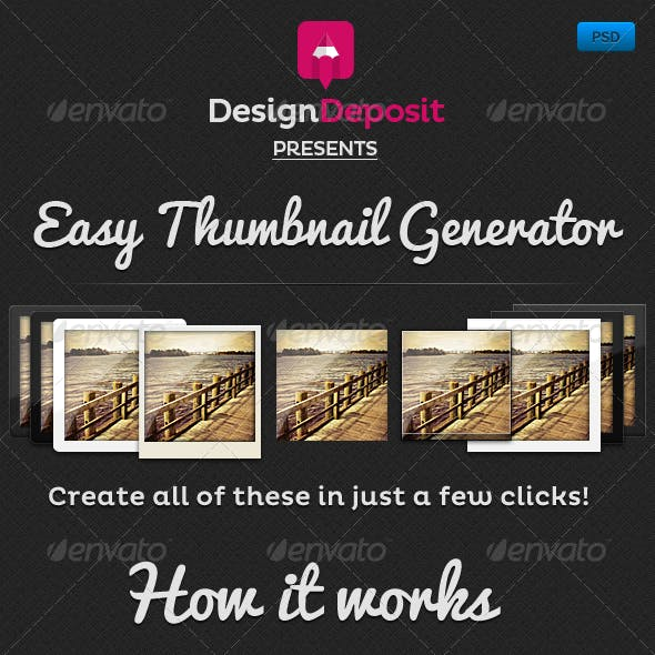 Easy Thumbnail Generator