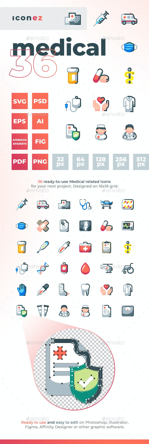 Iconez - Medical Icons - Miscellaneous Icons