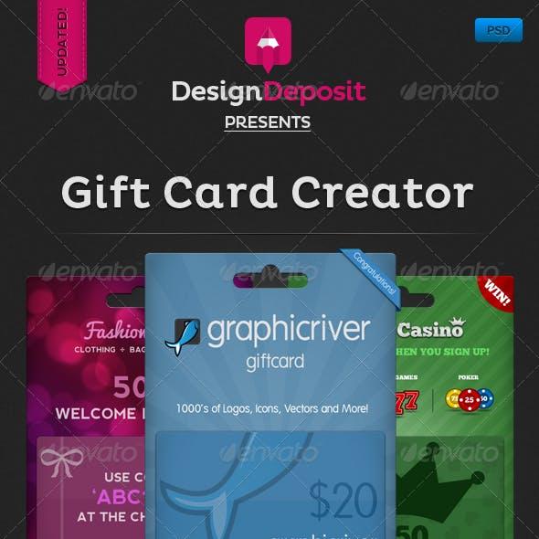 Giftcard Creator