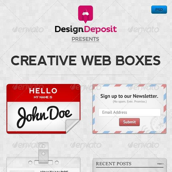 Creative Web Boxes