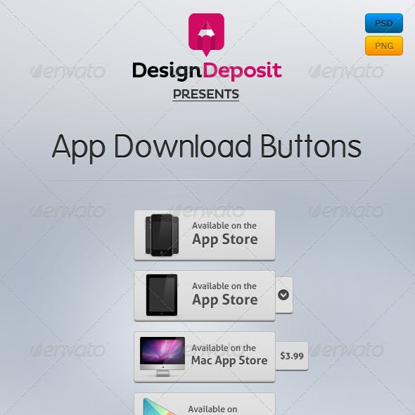 App Download Buttons