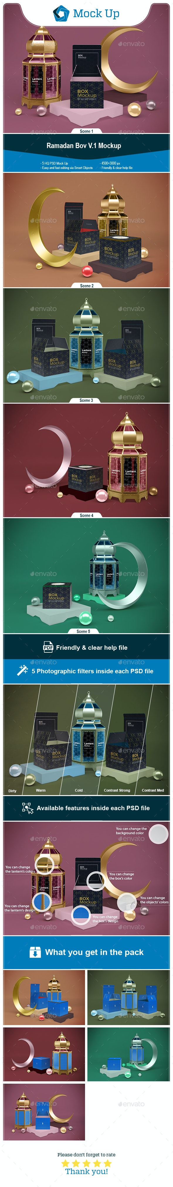 Ramadan Box V.1 - Miscellaneous Packaging