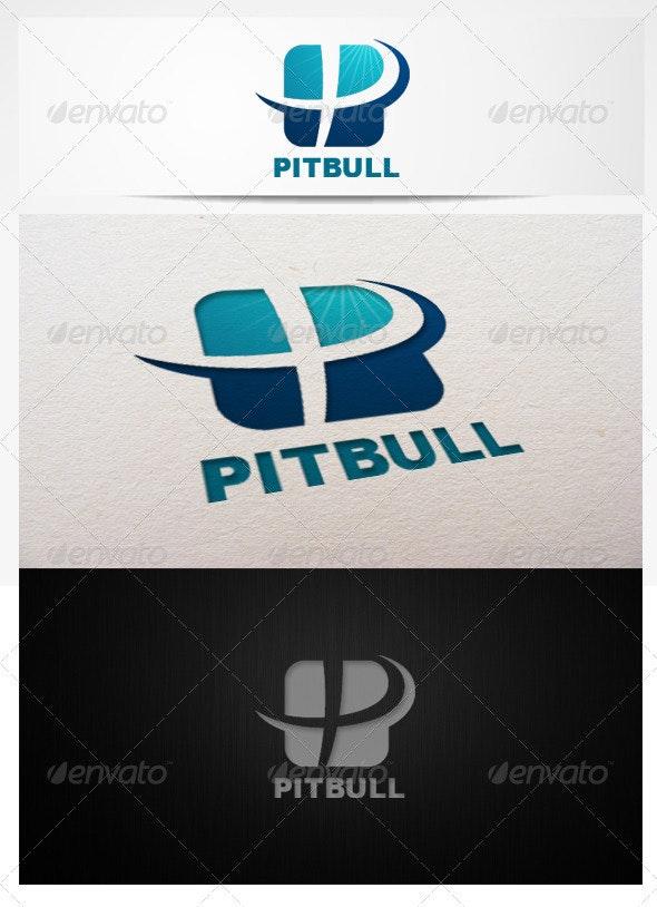 logo letter P template - Letters Logo Templates