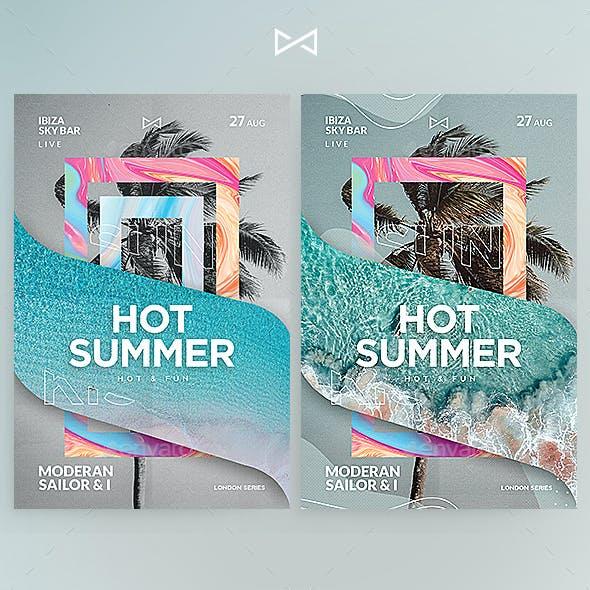 Hot & Fun Poster