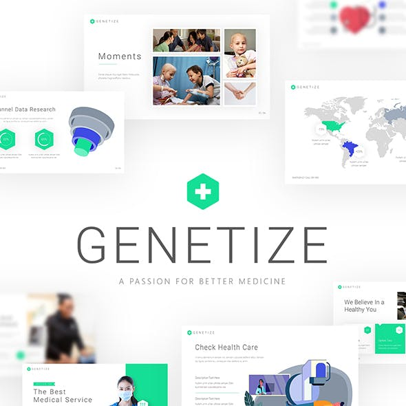 Genetize Medical PowerPoint Presentation Template