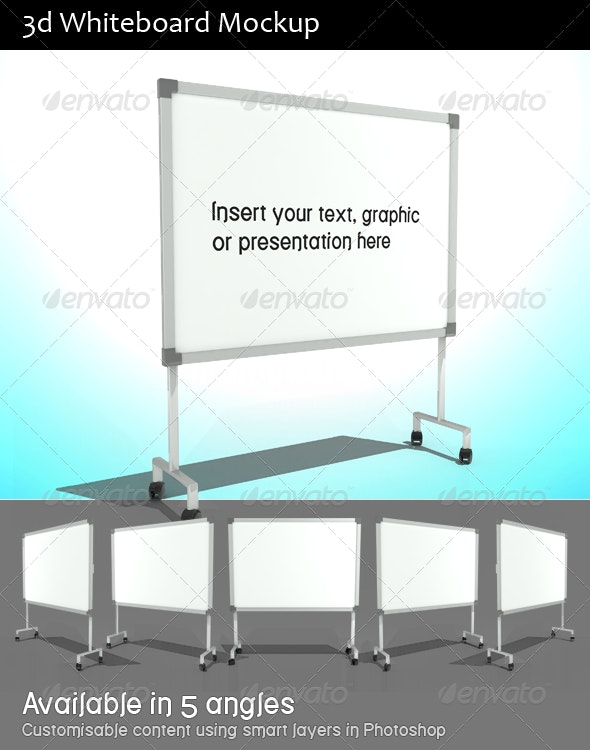 Whiteboard - 3D Backgrounds