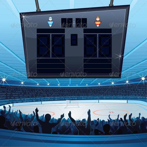 Hockey Stadium - Sports/Activity Conceptual