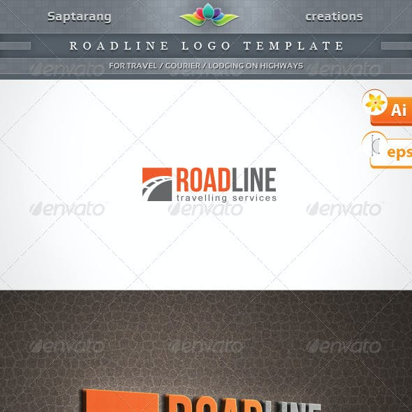 Roadline Logo Template