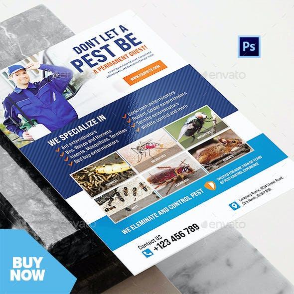 Professional Pest Control Services Flyer