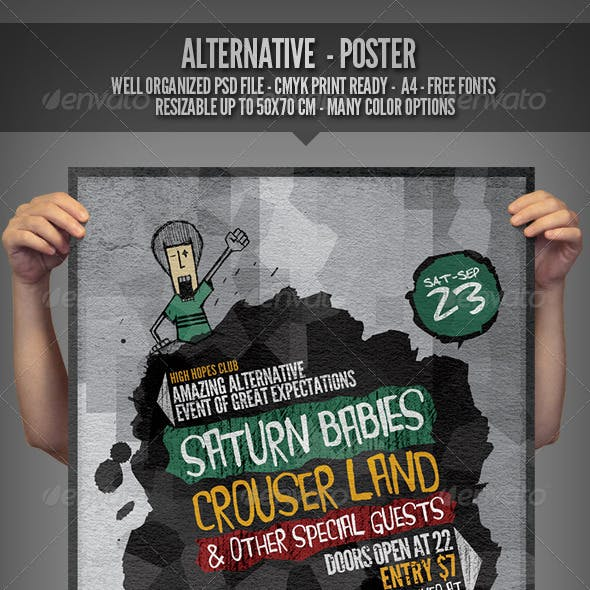 Alternative - Flyer/Poster Template