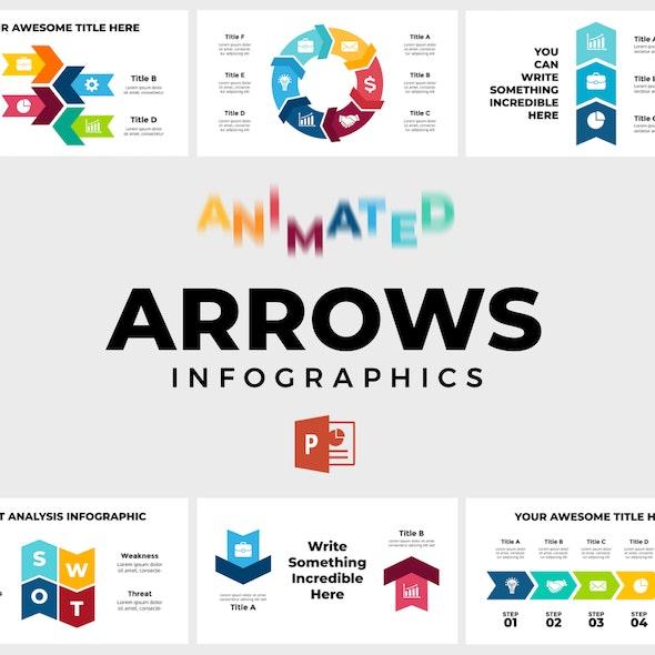 Arrows Infographics. PowerPoint Presentation - PowerPoint Templates Presentation Templates