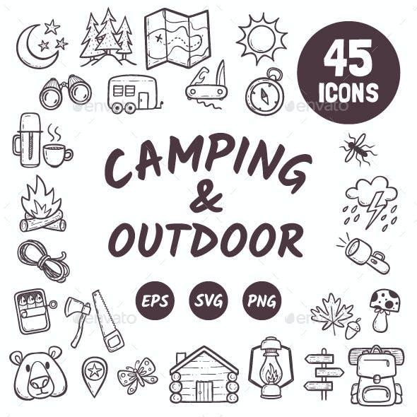 Doodle Camping & Outdoor activities