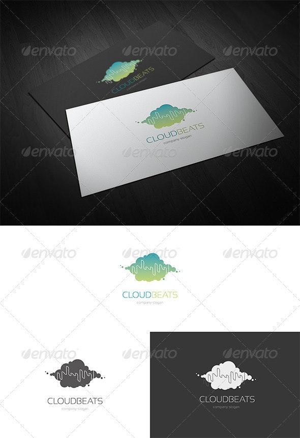 Cloud Beats Logo - Symbols Logo Templates