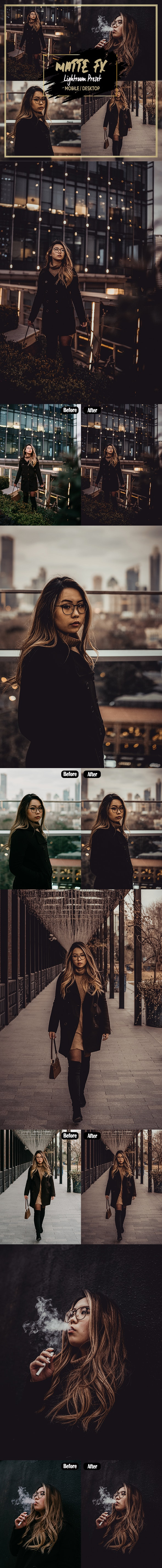 Matte fx - Lightroom Preset - Lightroom Presets Add-ons