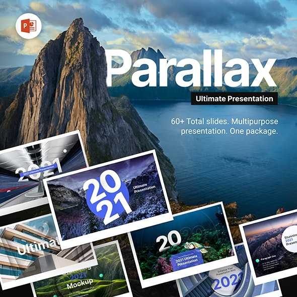 Parallax Ultimate PowerPoint Animated Template