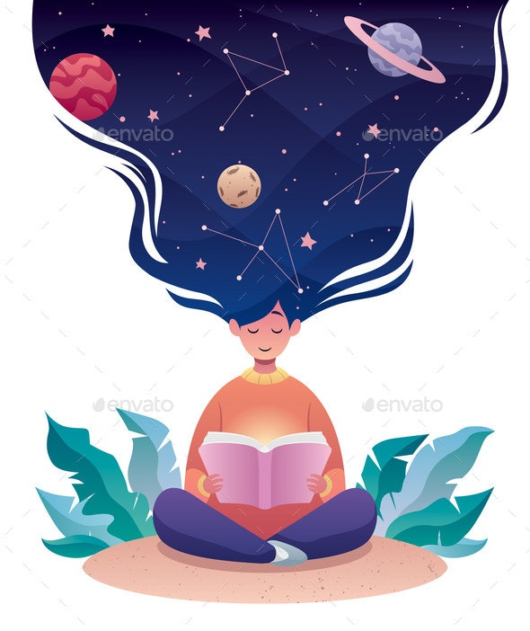 Thinking of Astrology - Miscellaneous Vectors
