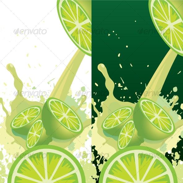 Fresh Lemon / Lime - Food Objects