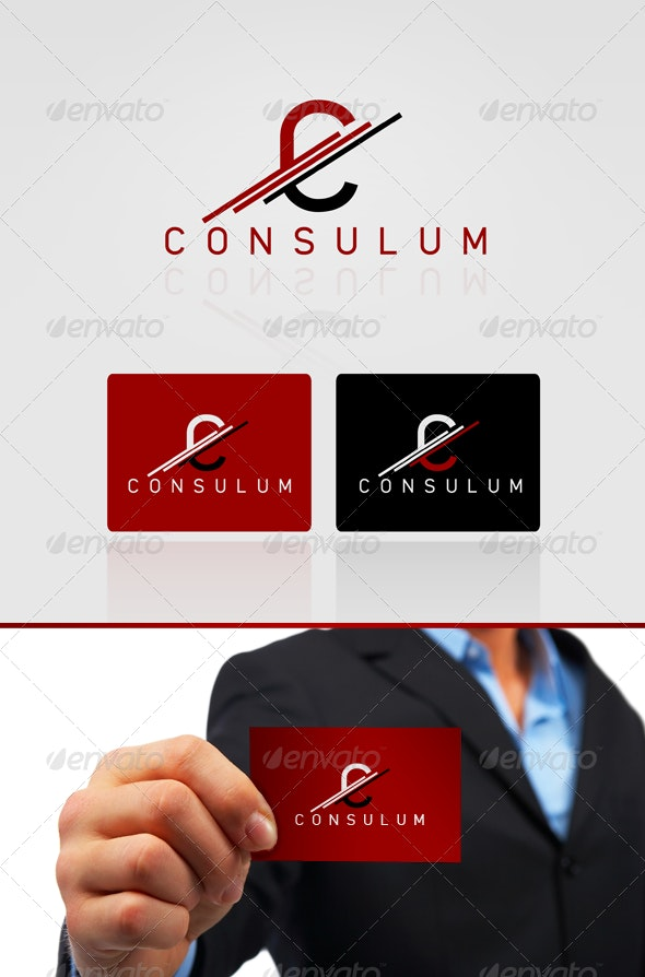 Consulum Logo Design - Letters Logo Templates