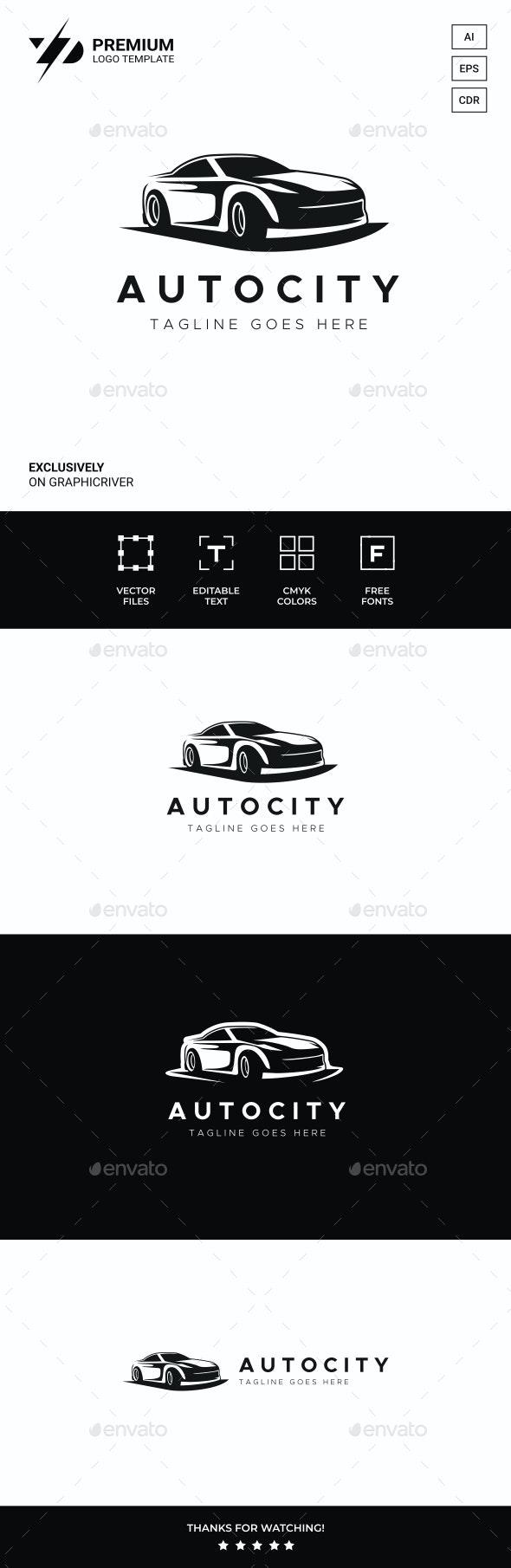 Auto Logo - Objects Logo Templates