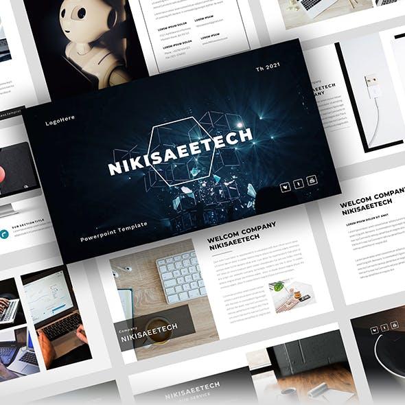 NIKISAAETECH – Technology PowerPoint Template